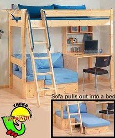 thuka trendy 29 high sleeper instructions