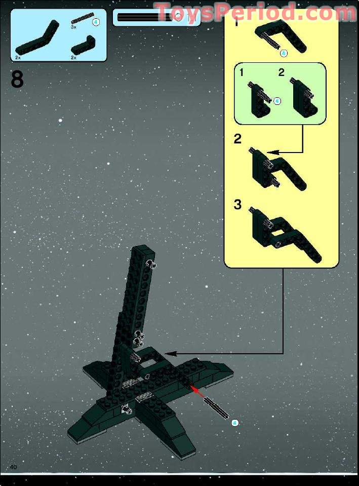 tie advanced lego instructions