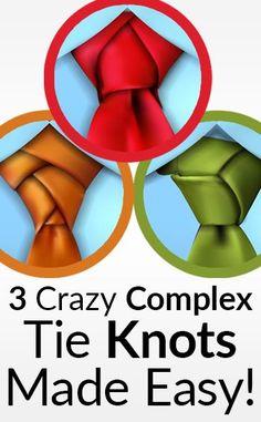 trinity knot tie instructions