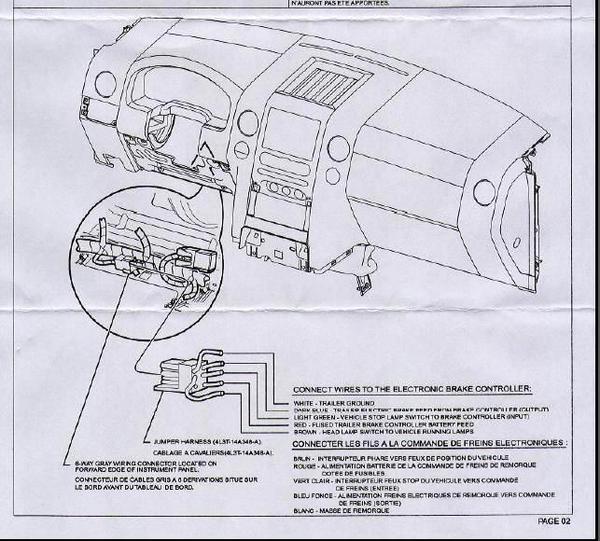 u haul trailer brake control instructions