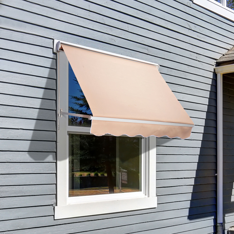 uberhaus retractable sun shelter instructions