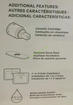 water ridge euro style kitchen faucet installation instructions