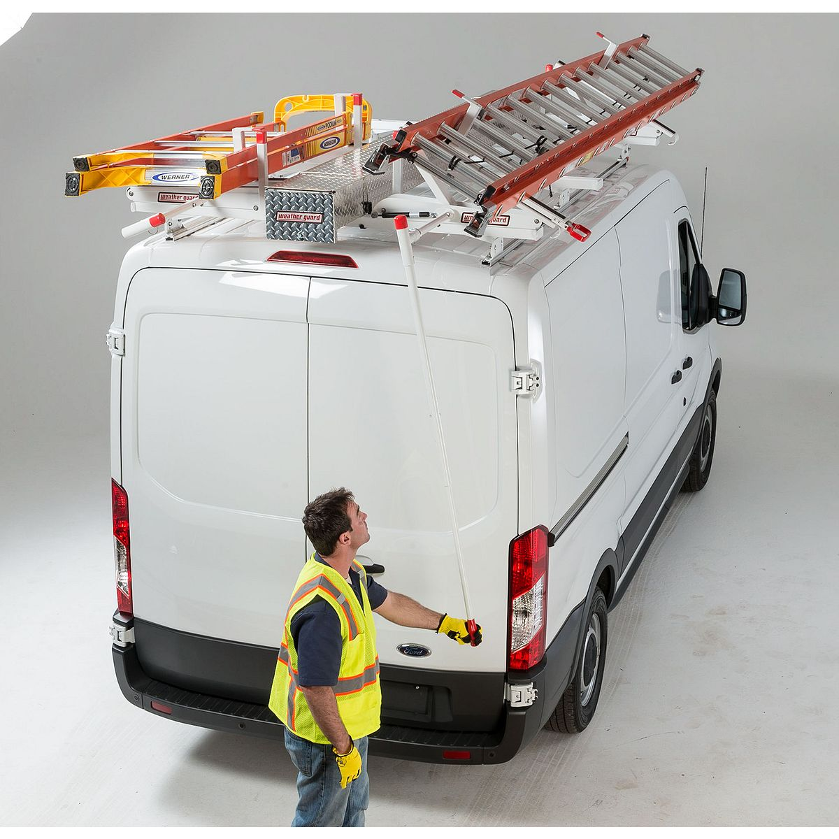 weather guard ladder rack installation instructions