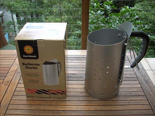weber chimney starter instructions