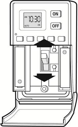 westek digital wall switch timer instructions