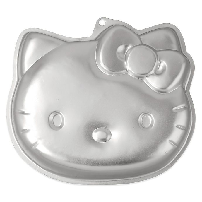 wilton hello kitty cake pan instructions