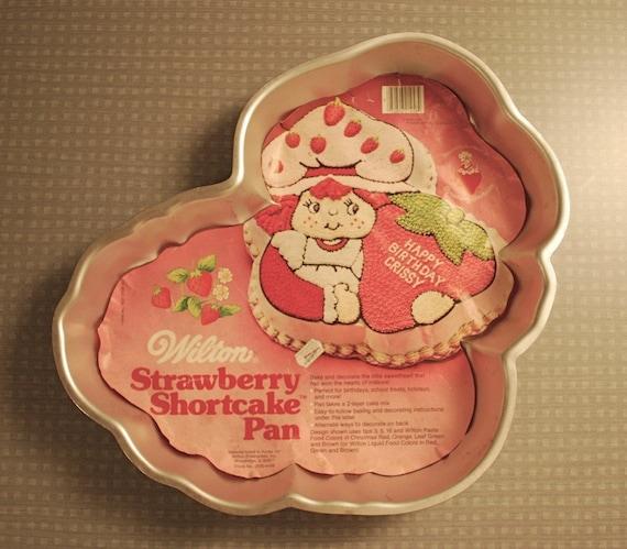 wilton strawberry shortcake cake pan instructions