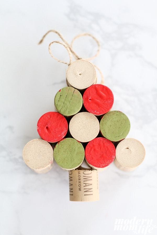 wine cork ornaments instructions