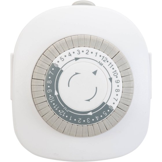 work choice indoor grounded timer instructions
